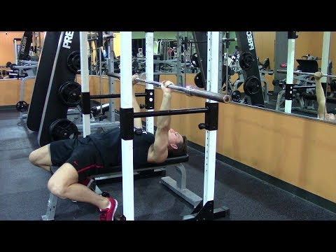 Max Effort Powerlifting Bench Press - HASfit Powerlifting Workouts - Powerlifting Chest Workout Image 1