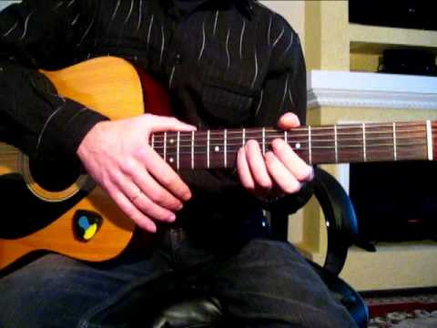 Гитарный бой Восьмерка (кавказский) Песни под гитару