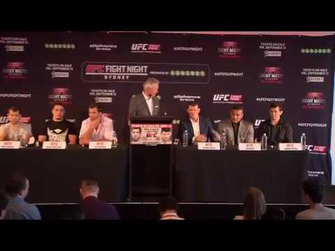 Fight Night Sydney: Ticket On-Sale Press Conference