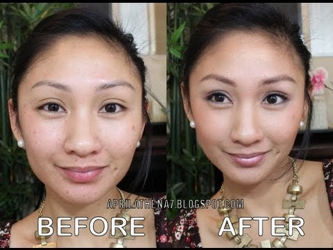 ACNE MINERAL FOUNDATION FULL COVERAGE TUTORIAL! How to hide acne scars with makeup! SHEER COVER!