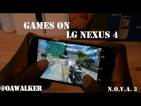 Games On LG Nexus 4
