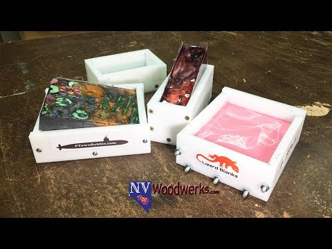 Smooth HDPE Molds for Resin Casting - Non Stick and Easy