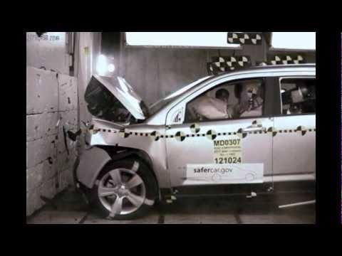 Jeep Compass | 2013 | лобовой краш-тест