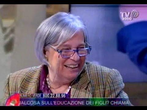 Con tata Lucia, ospite di Tv2000, per parlare di educazione dei figli