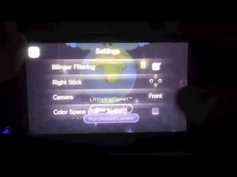 PSVita: Little Big Planet PSP Game