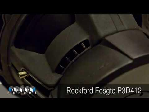 Rockford Fosgte P3D412 Subwoofer