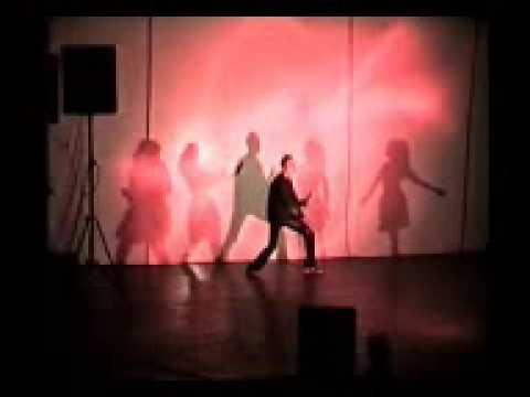 kyun chalti hai pawan !! hrithiks shadow dance (techo MSU)