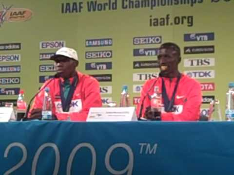 Ezekiel Kemboi, and Richard Kipkemboi Gold and Silver