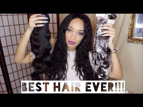 Unboxing Review  Affordable Elfin Virgin Hair  Brazilian Hair Body Wave