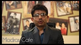 Madras Cafe Review   KRK Live   Bollywood