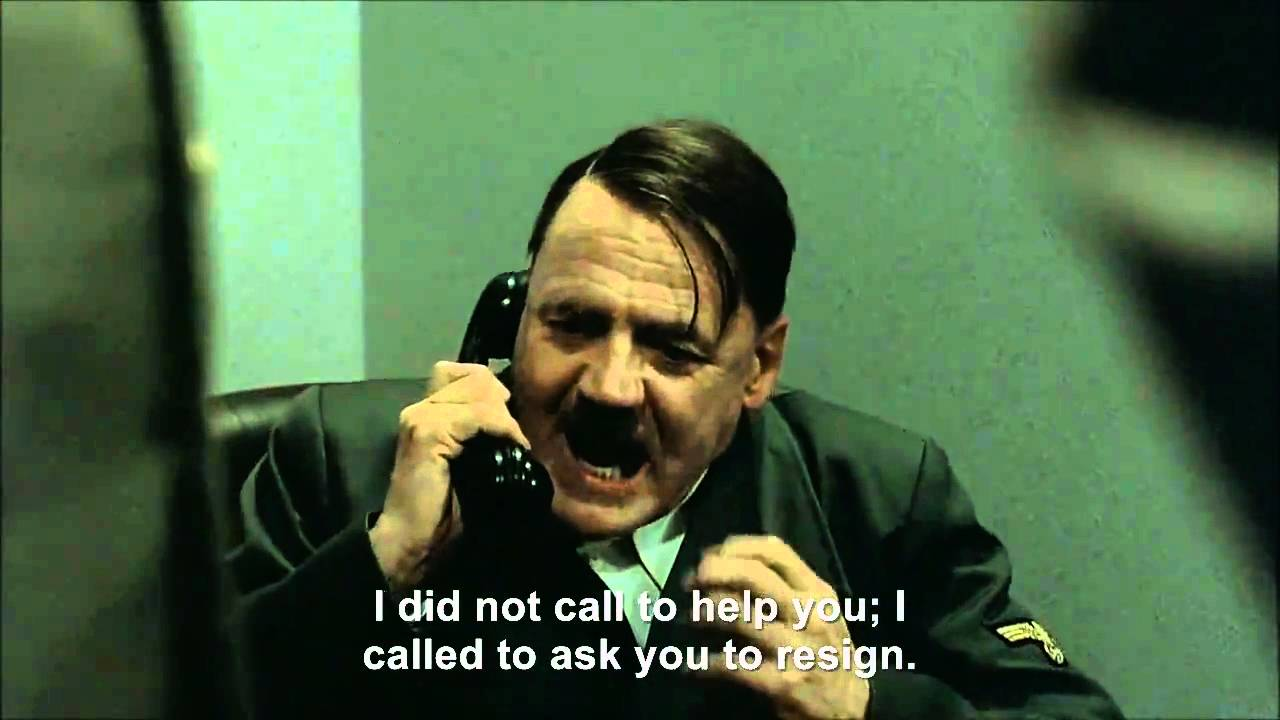 Hitler phones Mubarak