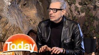 Jeff Goldblum meets reporter that declared him dead