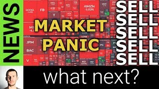 STOCKS DOWN BIG TODAY - What Next?