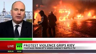 Radicals in (Riots)? 'Euromaidan failed to separate from neo-Nazis'  1/21/14