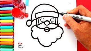 Aprende hacer DIBUJOS DE NAVIDAD con Brillantina   Glitter Christmas Drawings for Kids, Toddlers