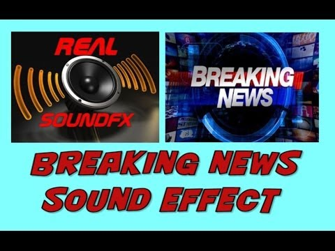 Breaking News Sound Effect - Background Music Realsoundfx video