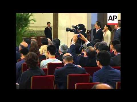 WRAP Leaders of Shanghai Cooperation Org nations meet, Hu meets Putin