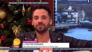 [HD] Good Morning Britain: Ben Haenow Interview
