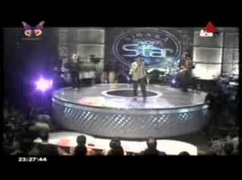 Surendra Perera-nilla Nagana  Sirasa Superstar Season2 29-09-07 video