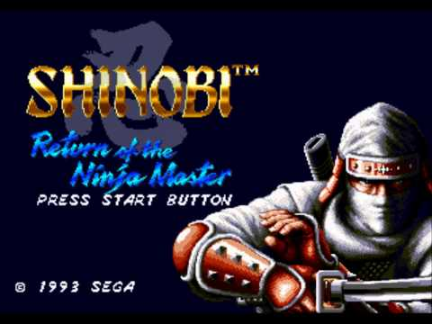 Shinobi III: Return of the Ninja Master Music Shinobi Walk