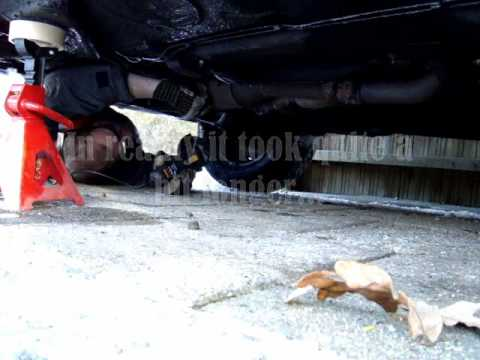 Fixing an exhaust leak on an