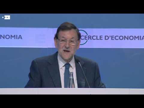 Rajoy anuncia en Barcelona un plan de medidas para la economía española