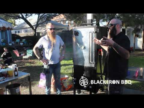 BlackIron BBQ PitViper L BBQ Smoker - Pitmaster Review from Will Fleischman and Eric Perry