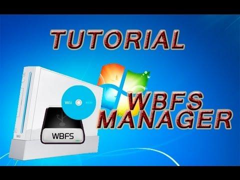 Tutorial como pasar juegos del pc a la wii con WBFS Manager