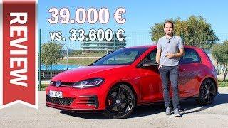 VW Golf GTI TCR oder GTI Performance? - 5.000 € mehr für Sportfahrwerk & 290 PS? Vergleich & Review