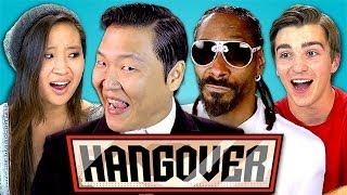 Teens React to PSY - Hangover feat. Snoop Dogg