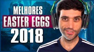 Os MAIORES e MELHORES Easter Eggs e segredos do GAMES em 2018, é SURPREENDENTE