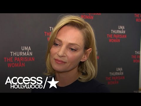 Uma Thurman Gets Emotional About Women Speaking Out On Sexual Harassment In Hollywood thumbnail