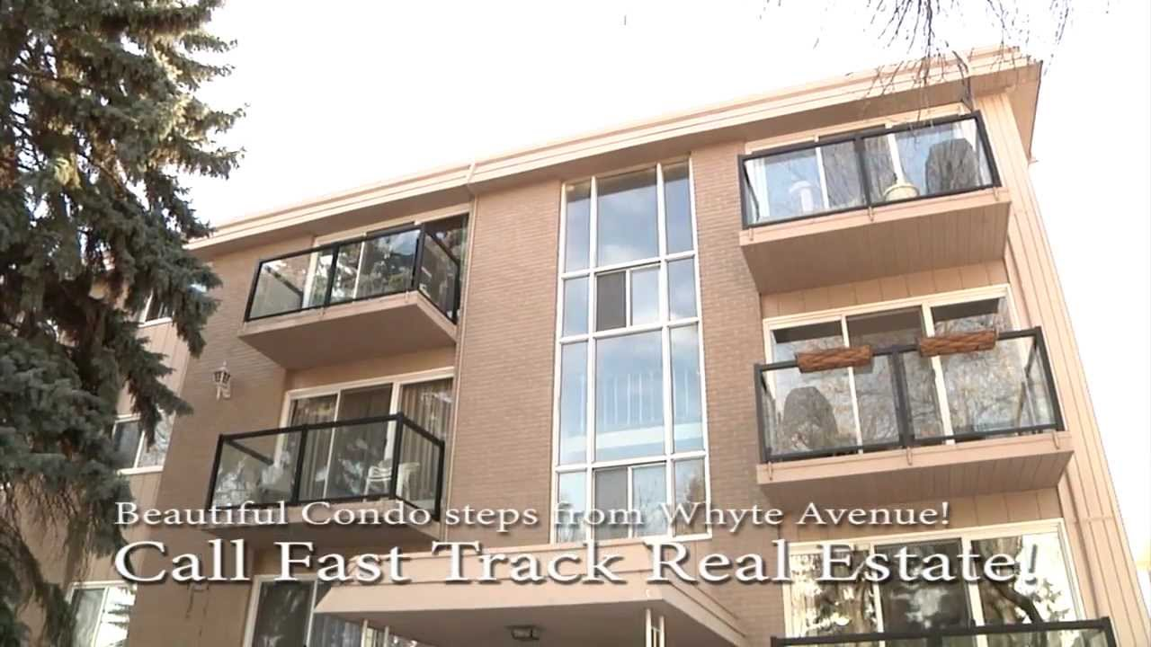 amazing condo steps off whyte ave home for sale 306 10633 81st ave edmonton alberta youtube