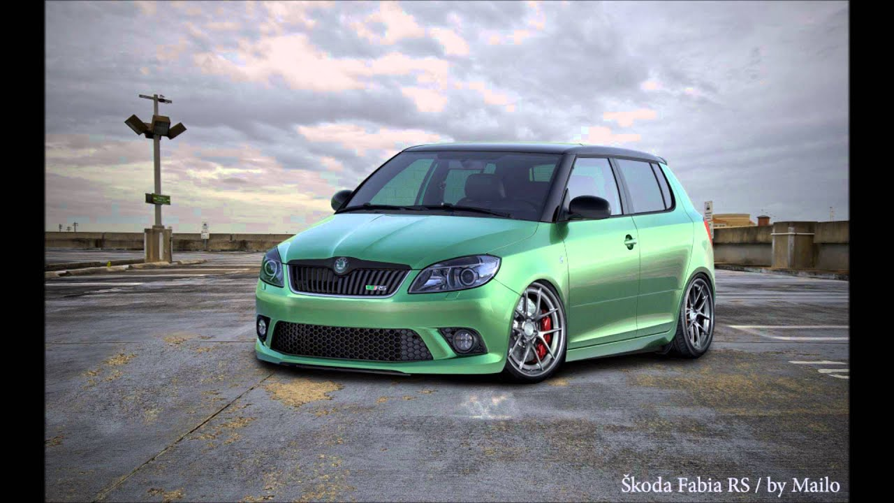 virtual tuning skoda fabia rs by mailo 2013 hd youtube. Black Bedroom Furniture Sets. Home Design Ideas