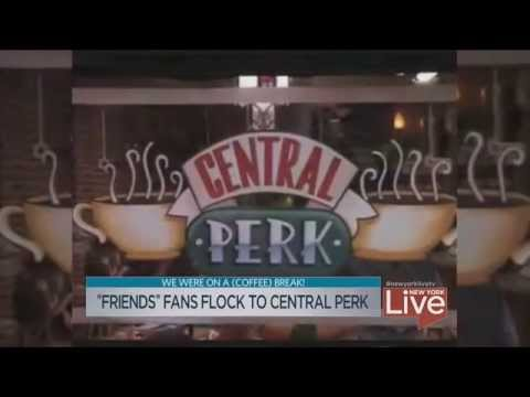 FRIENDS Central Perk Pop-Up opens in NYC