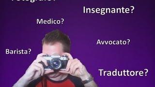 Apprendre l'italien - Leçon 4 /// Les métiers, la négation, le verbe avere (avoir)