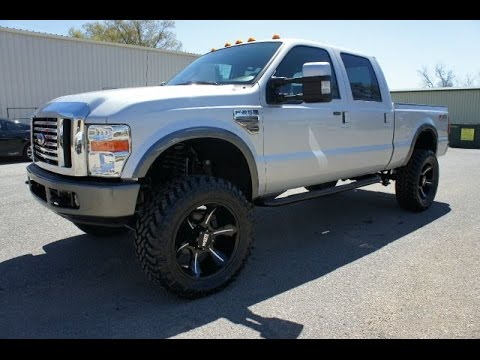 2008 FORD F-250 FX4 6.4 POWERSTROKE DIESEL LIFTED FOR SALE
