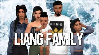 The Sims 4   CAS: The Liang Family + New LP!