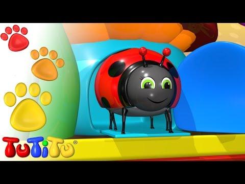 TuTiTu Animals | Animal Toys for Children | Beetle (Ladybug)