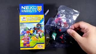 Lego nexo hiệp sĩ minifigures đất sét macy robin jestro aaron (bootleg
