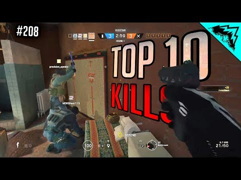 SIEGE: BEST STRATEGY - Top 10 Plays Rainbow Six Siege of the Week - WBCW #208 (Siege Top 10 Kills)