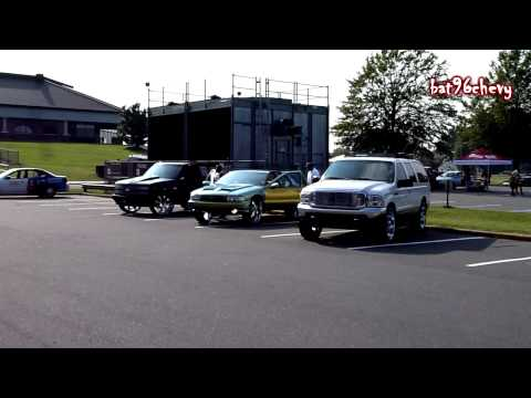 Carolina Show Stoppers at car show [96 Impala. Crown Vic. Silverado. Excursion. Suburban] - HD
