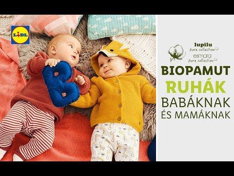 Biotextil ajánlatunk babáknak és mamáknak 09.12-től | Lidl