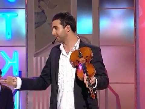 Иван Ургант. Игра на скрипке. Хорошие шутки