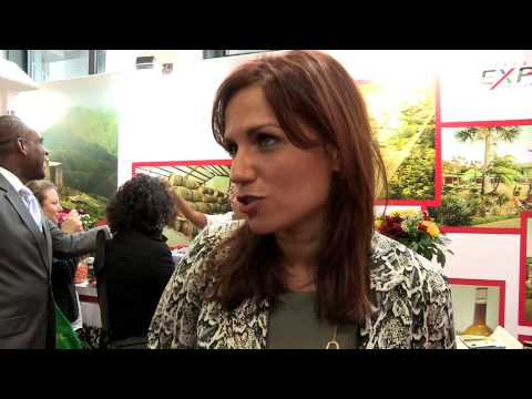ITB 2014 - Haiti Launches Craft Village - Minister Stephanie Balmir-Villedrouin