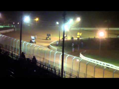Port Royal Speedway 410 Sprint Car Highlights 5-11-13