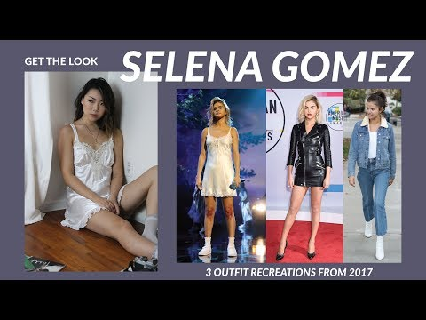 GET THE LOOK | Selena Gomez | 3 Outfit Recreations from 2017 American Music Awards & Street Style thumbnail