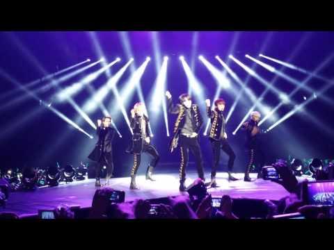 (FANCAM) SHINEE -- Ring Ding Dong, Amigo    Shinee World III    México 4-Apr-2014