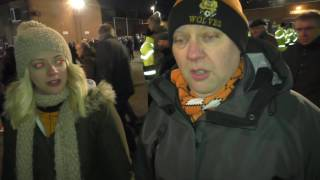 Wolves fans on 0-0 draw with Sheff Weds