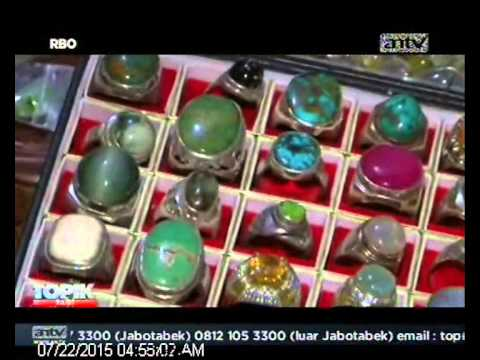 [ANTV] TOPIK BATU AKIK, Puluhan Tahun Mengumpulkan Batu Kesayangan